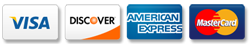 visa discover american express mastercard all accepted in Vacaville