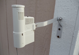 a rain sensor installed by a sprinkler repair technician in Vacaville CA