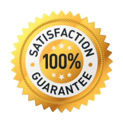 our services are 100% satisfaction guarantee
